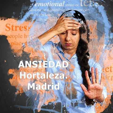 Tratamiento de la ansiedad en Hortaleza. Madrid